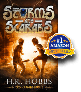 Storms and Scarabs HR Hobbs Books - Amazon Best Seller
